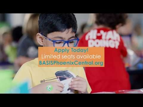 Grades K-5 Tuition Free Charter School | Basis Phoenix Central