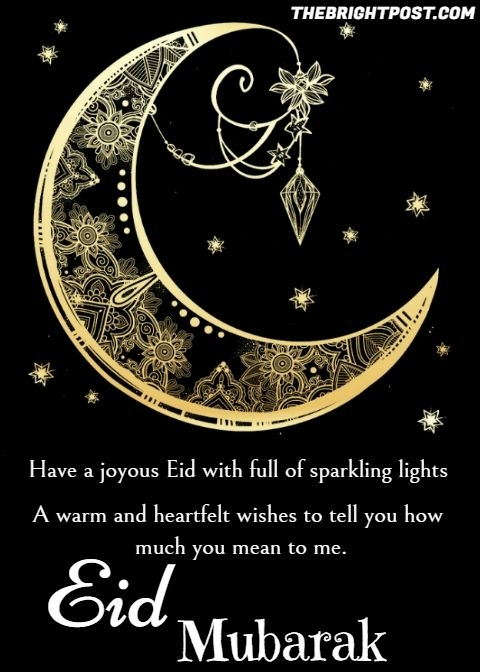 Have A Joyous Eid With Full Of Sparkling Lights… A Warm And