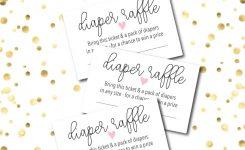 10 Diaper Raffle Wording Ideas Diaper Raffle Tickets Too
