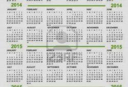Ten Year Calendar Program