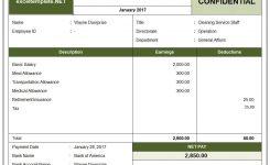 15 Free Salary Slip Templates Printable Word Excel Pdf