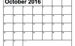 2016 Monthly Calendar Printable Activity Shelter Calendar