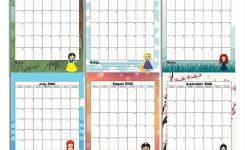 2016 Princess Calendar Free Printable Printables Calendar Free