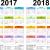 Free 2018 Year Calendar Uk 2
