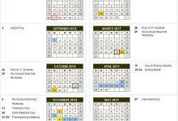 Granite School District Calendar