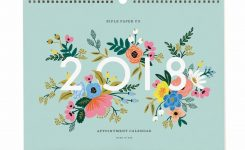 2018 Appointment Wall Calendar Rifle Paper Co Made In Usa