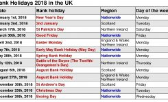 2018 Calendar Dates Uk Jill Davis Design
