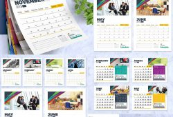 Calendar Design 2018 Free Download
