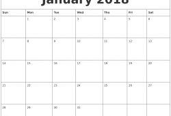 February 2018 Calendar Printable Word