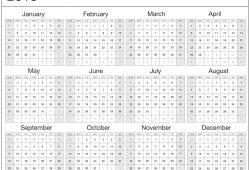 2018 Calendar Template Uk Word