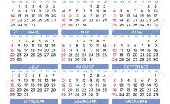 2018 Elegant Squared Calendar Year 2018 Calendar Calendar 2018