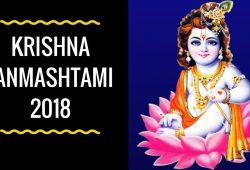 Krishna Janmaashtami 2018