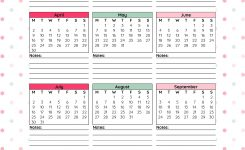 2018 Monthly Printable Calendar Lets Do This Printable