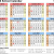 2019 And 2019 School Calendar Printable