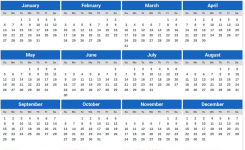 2019 Calendar Japan Meetgeorge