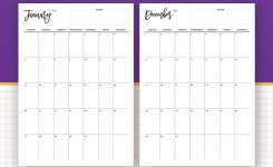 2019 Monthly Calendar Calendar 2019 Planner Design Best Planner
