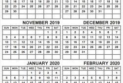 September 2020 February 2020 Calendar