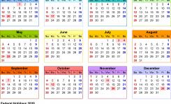 2020 Calendar 17 Free Printable Word Calendar Templates