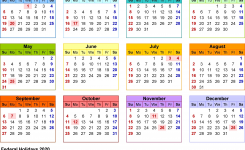 2020 Calendar Printable Uk 2020 Calendar Download 17 Free Printable