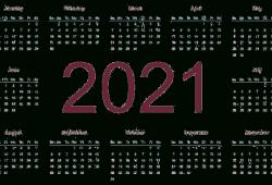 2021 Hd Calendar