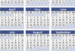 Show Me A 2021 Calendar