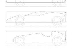 Pinewood Derby Car Design Templates Free