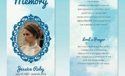 5 Memorial Bookmark Templates Free Word Pdf Psd Documents