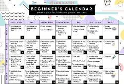 Blogilates Beginner Calendar