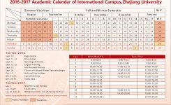 Academic Calendar Zju Uiuc Institute