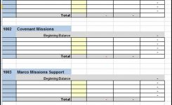Accounting Software In Excel Format Free Download And Church