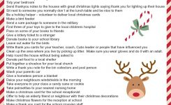 An Alternative Advent Calendar Acts Of Kindness Kids Free