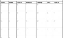 April 2018 Monthly Calendar Printable Qualads