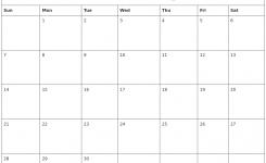 April 2019 Free Printable Calendar