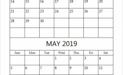 April And May 2019 Calendar 2 Months Printable Templates