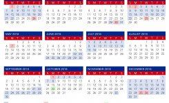 April Calendar Qld Flash Design