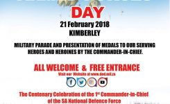 Armed Forces Day Main Event Kimberley 2018 Kimberley City Portal