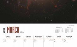 Astronomy Calendar 2018 Calendar Club Uk