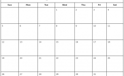 August 2018 Print Free Calendar