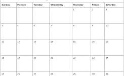 August 2019 Calendar Word Printable Calendar Templates