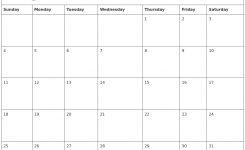 August 2019 Printable Calendar Printable Calendar Templates