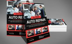 Auto Repair Psd Photoshop Flyer Template Free Psd Flyer