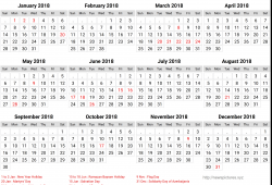Free Calendar 2018 Azerbaijan Printable