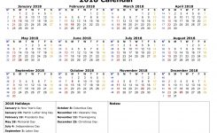 Bank Holiday Calendar Usa 2018 Flash Design