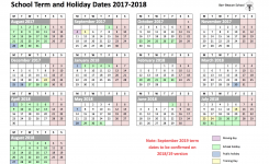 Barr Beacon School Calendar