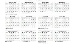 Blank Calendar 2020 Free Download Calendar Templates