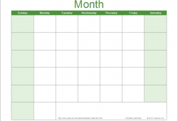 Blank Fillable Calendar Printable Blank Calendar Template Pdf