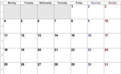Blank Printable August 2019 Calendar Week Numbers Qualads