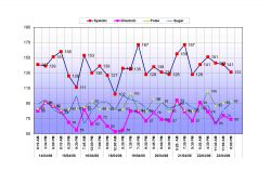 Blood Pressure Tracking Chart Excel