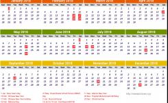 Brunei Calendar 2018 Newspicturesxyz