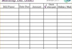 Keep Track Of Spending Spreadsheet